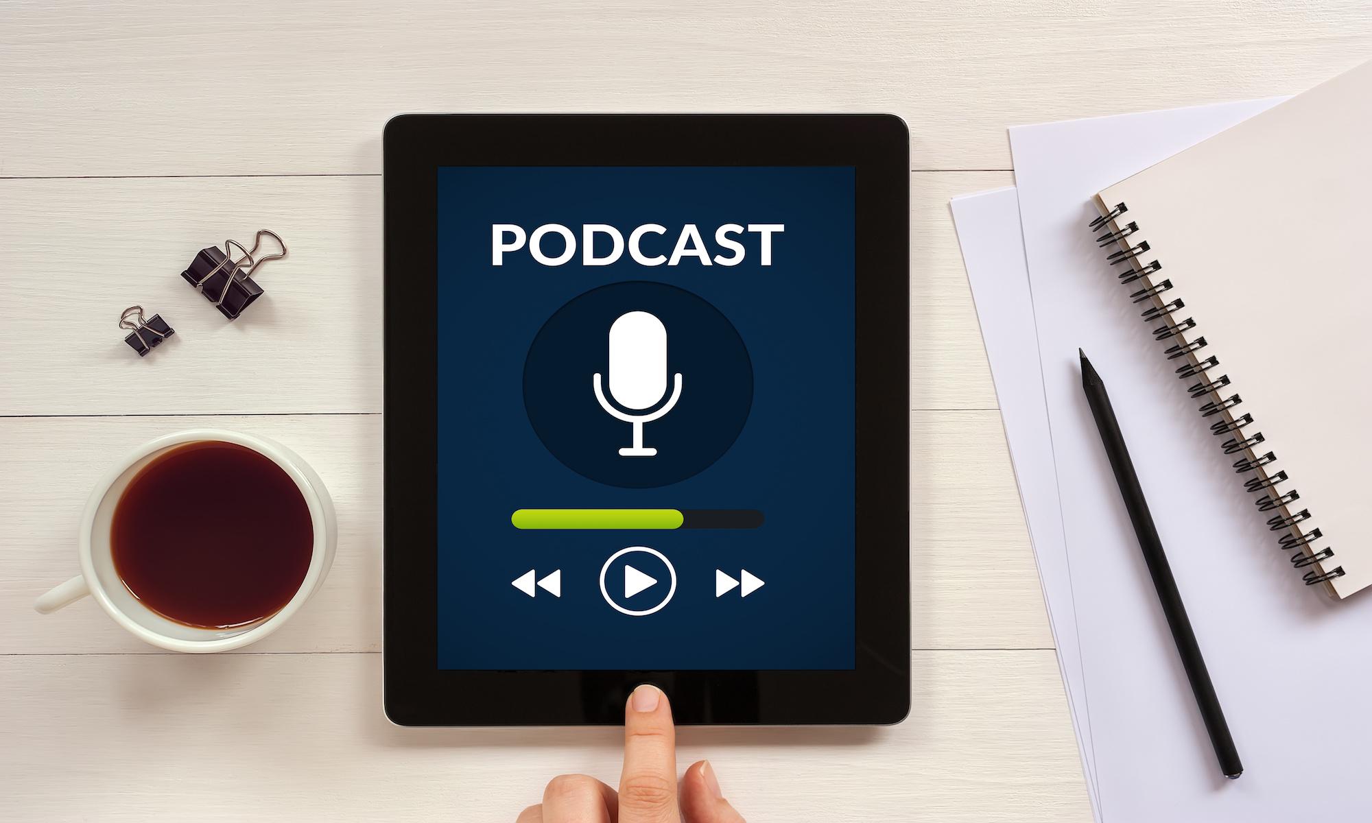 Linda Fall - Le marché des podcasts en France